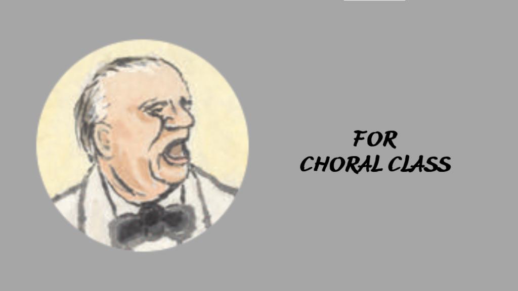 合唱クラスの受講生のページ入り口