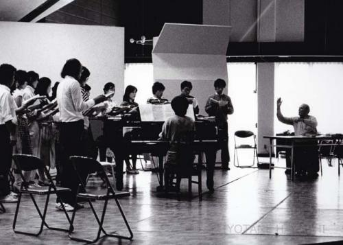 Ernst Haefliger and his students(1984)