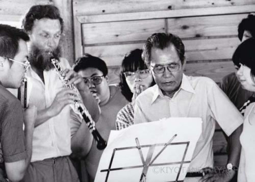 Isang Yun & Burkhard Glaetzner(1984)