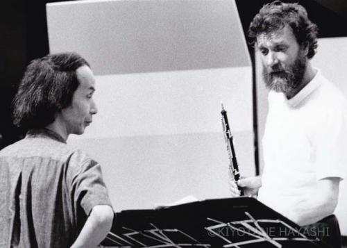 Toru Takemitsu & Burkhard Glaetzner(1985)