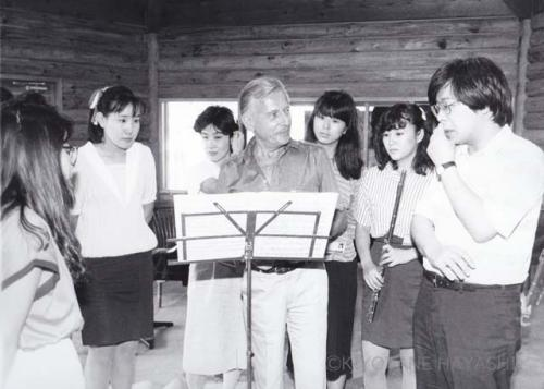 Christian Lardé and his students(1988)